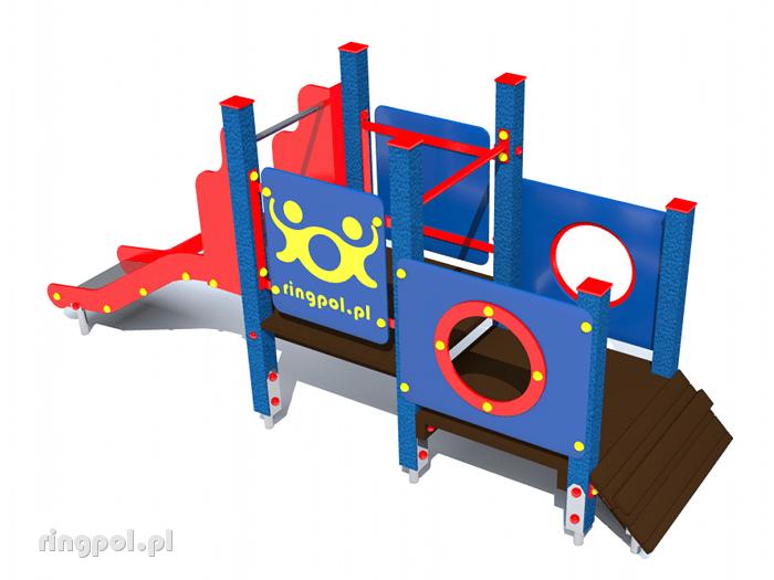 Plac zabaw dla dzieci - Malina
