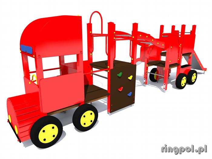 Plac zabaw dla dzieci - Wóz strażacki