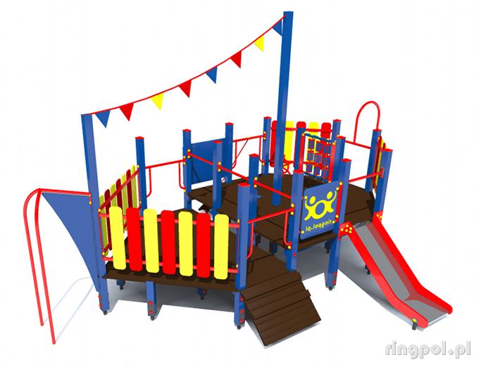 plac zabaw Statek średni [z115i] -Tematyczne place zabaw