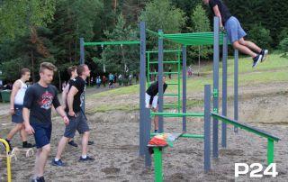 Plac zabaw i siłownia zewnętrzna Lesko Ski 2018