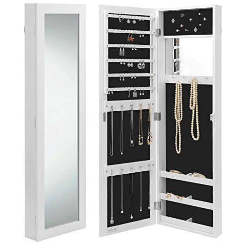 Beautify Walldoor Mounted Jewelry Armoire Cabinet