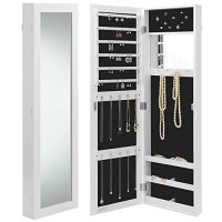 Beautify Wall/Door Mounted Jewelry Armoire Cabinet ...