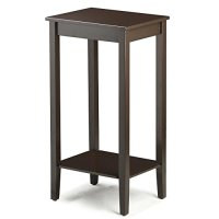 Topeakmart Tall Side Coffee End Table Solid Wood ...
