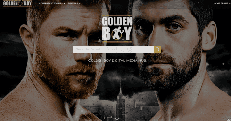 Golden Boy to deliver the future in content management and distribution with new digital media hub