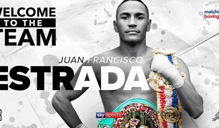 Juan Francisco Estrada signs promotional deal with Matchroom Boxing USA