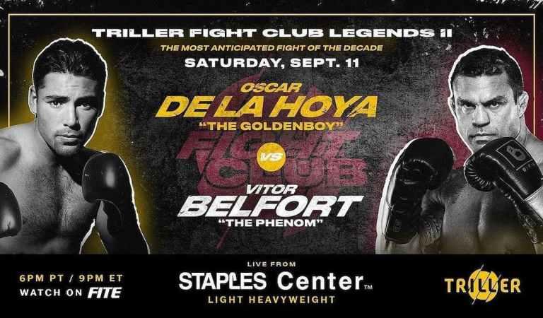 Oscar De La Hoya vs Vitor Belfort