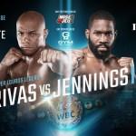 Oscar Rivas vs Bryant Jennings poster for first bridger weight championship fight
