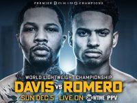 Gervonta-Davis-vs-Rolando-Romerofight card