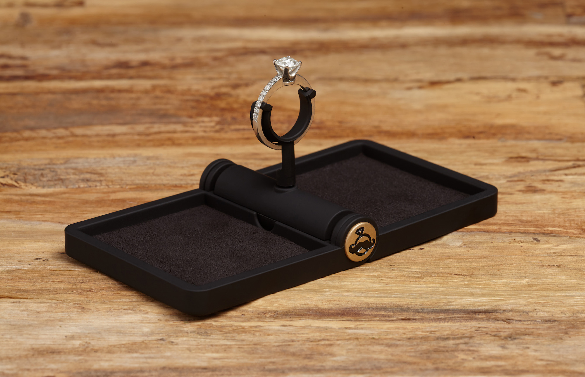 Ring Stash  Thin Engagement Ring Box