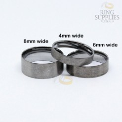 Tungsten ring core and liners