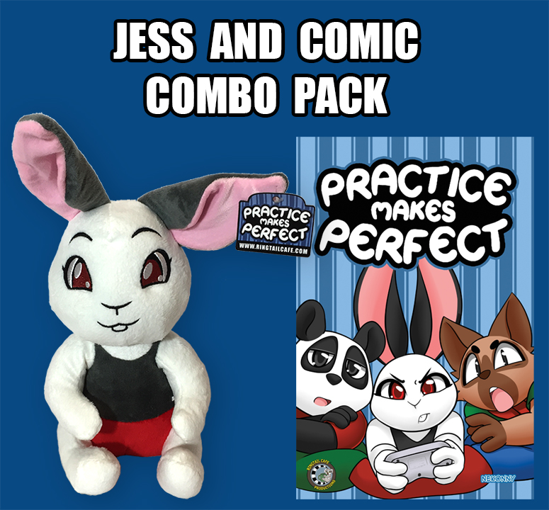 plush and comic combo pack