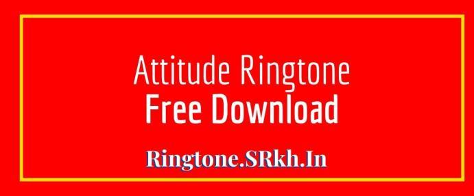 Attitude Ringtone
