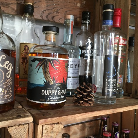 Puppy Share Caribbean Rum makes mean Rum Mule