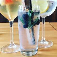 Gin Menu the Railway Craft Pub and Kitchen Ringwood New Forest