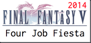 Final Fantasy V Four Job Fiesta Logo