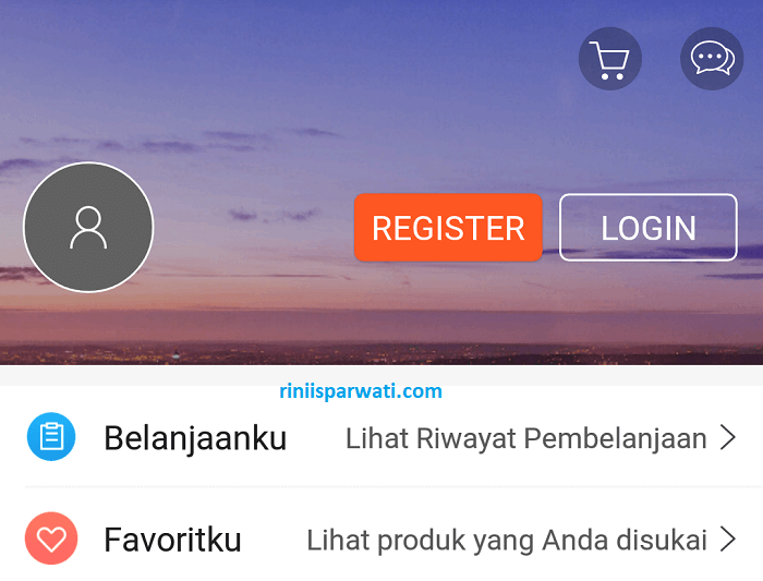 cara registrasi di shopee