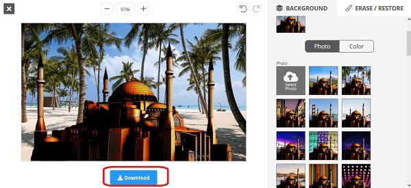 cara edit latar belakang foto online pakai removebg