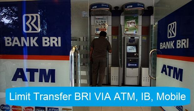 Limit Transfer ATM BRI, BRImo, Mobile Banking Yang Harus Kamu Tahu
