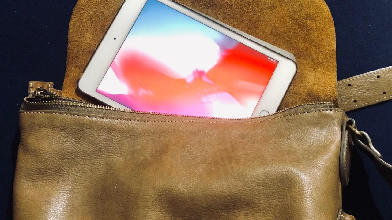 持ち運びしやすいiPad mini