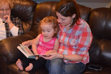 Story time with Aunt Mel