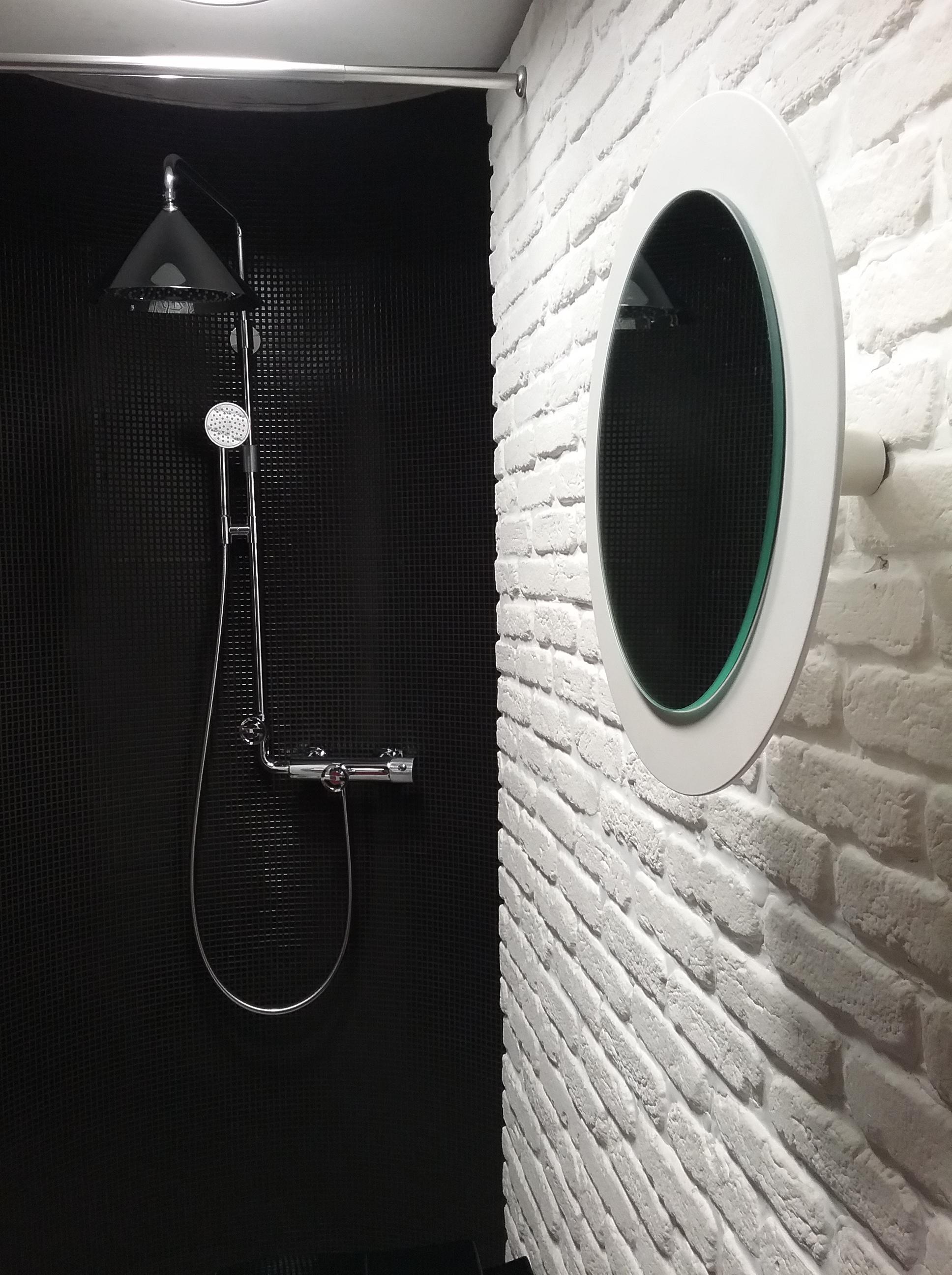 Il bagno  rinnovare con la pietra