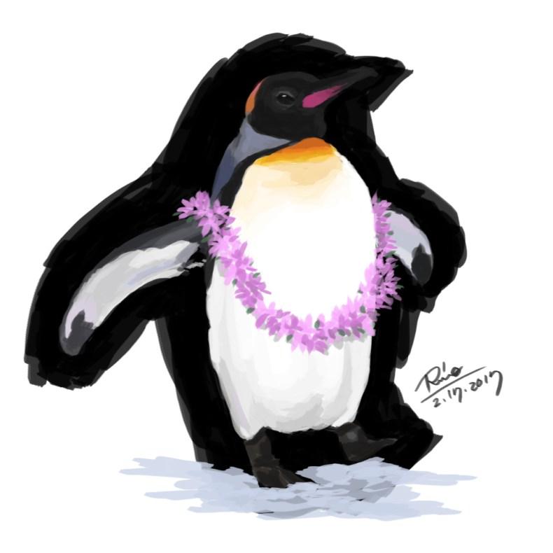 【花冠シリーズ】ペンギンさんの散歩