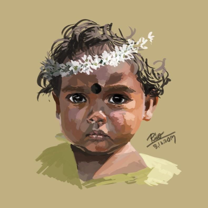【花冠シリーズ】インド人の子ども