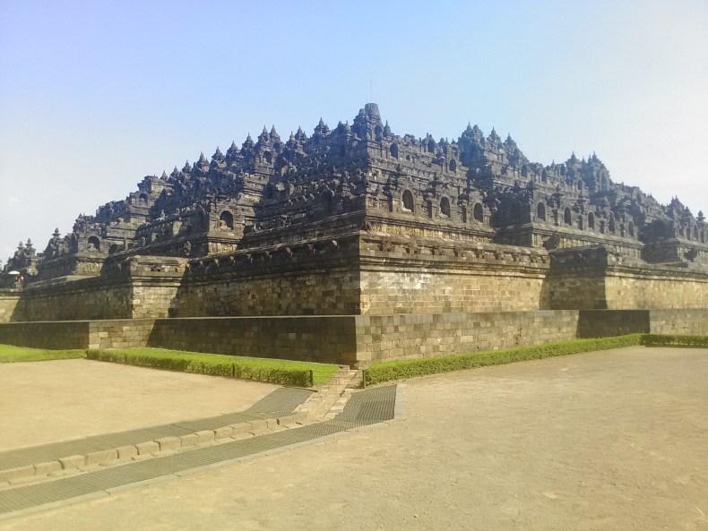 インドネシア ジョグジャカルタ ボロブドゥール遺跡