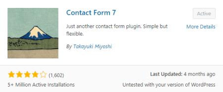 membuat formulir kontak dengan contact form 7