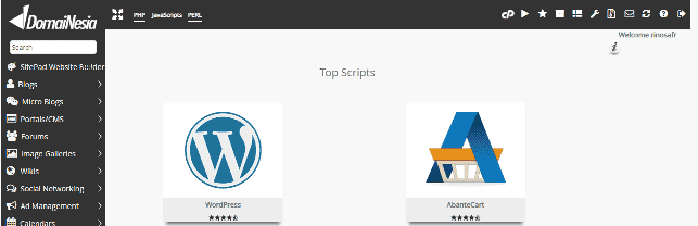 instalasi wordpress via cpanel