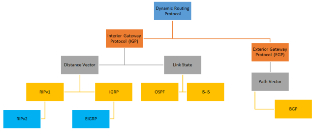 Pembagian dynamic routing protocol
