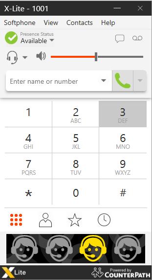 Konfigurasi Client menggunakan X-Lite