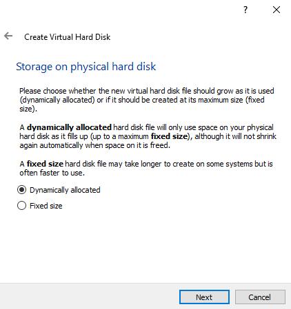 Membuat komputer guest di VirtualBox