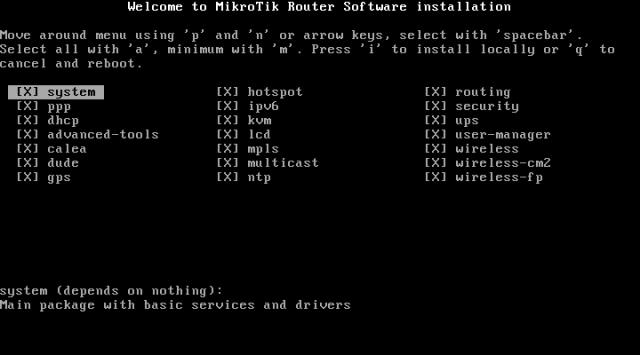 Instalasi MikroTik di VirtualBox
