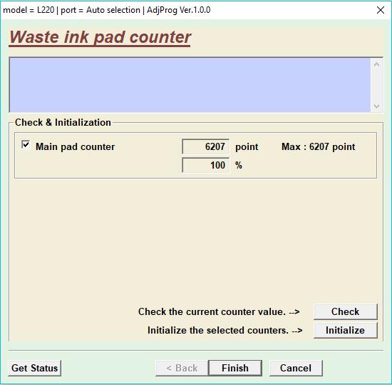 Reset Printer Epson L220