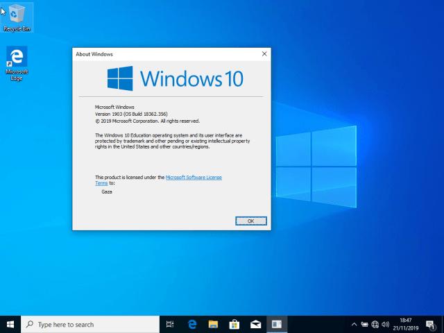 Instalasi Windows 10 di VirtualBox