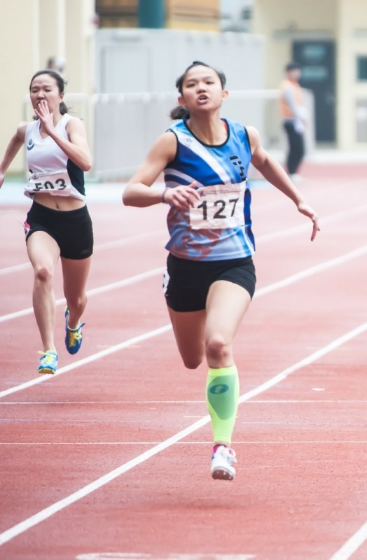 Women's 200m Champion CHAN Ka Sin