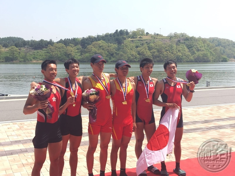 rowing_Chiu Hin Chun & Tang Chiu Mang in Medal Presentation Ceremony (Left to Right)_160425