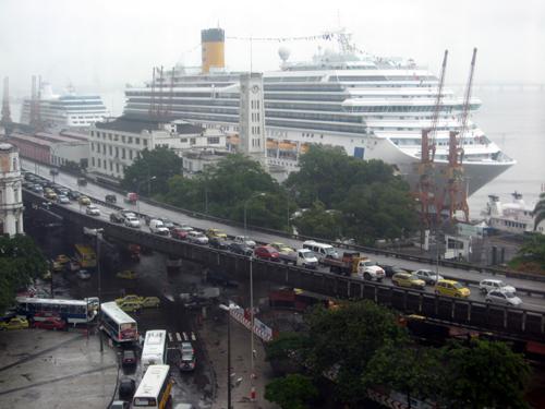 Costa Mágica no Porto do Rio: será que agora vai?
