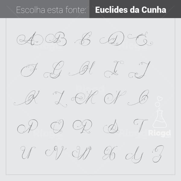 Escolha a fonte Euclides da Cunha