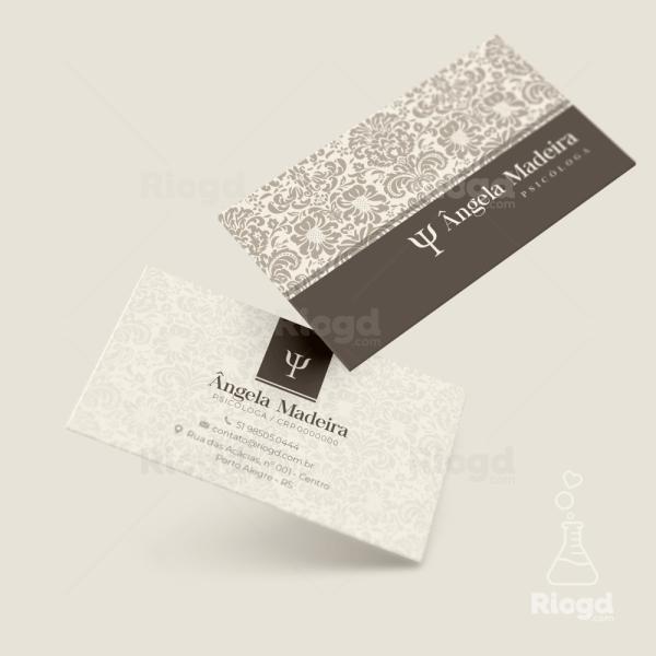 Cartão de Visita Psicologia Petra