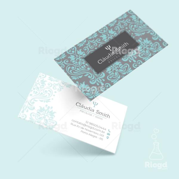 Cartão de Visita Psicologia Dubai