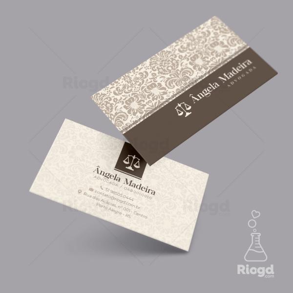 Cartão de Visita Advocacia Oriente Petra