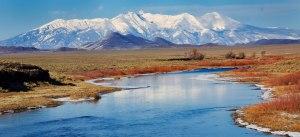 Blanca Peak and Rio Grande River, Photo by Ed MacKerrow