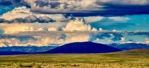 Ute Mountain in the Shadows-Rio Grande del Norte, Photo by Ed MacKerrow