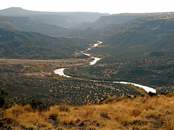 1. The Rio Grande Corridor at Buckman is an extraordinary place full of cultural and natural history. Located approximately 15 miles west from downtown Santa Fe, Buckman represents one of the few places that the public can easily access the Rio Grande in Santa Fe County.