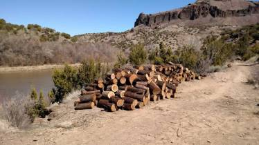 28. After carrying these heavy pieces up to the trail by hand, they then had to be taken down stream another ¼ mile by wheelbarrow to where they were loaded into a dump truck and removed from the site.