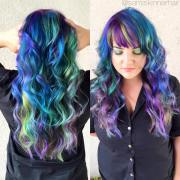 multi color hairstyles - heygotomaps