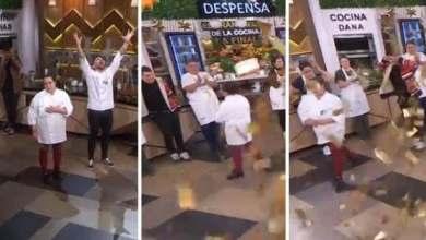 Photo of El Gran Premio de la Cocina tuvo final con escándalo: Dana se escapó furiosa en medio del programa tras haber perdido