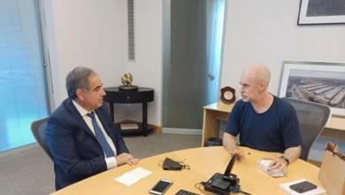 Photo of Julio Martínez se reunió con Horacio Rodríguez Larreta